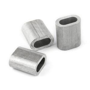 Зажим канатный алюминиевый